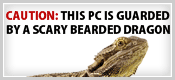 Bearded Dragon Badge